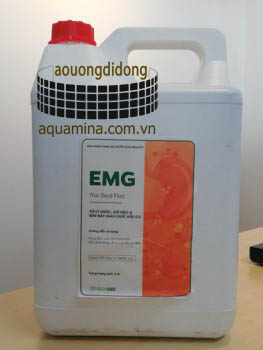 EMG - Microbiological treatment of pond bottom, organic residue